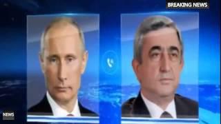 2015 Короткий Телефонный разговор Путина с Президентом Армении