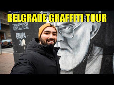Belgrade, Serbia Graffiti and Street Art Tour