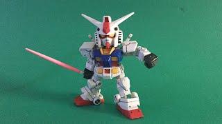 【ガンプラ#1】GUNPLA SDCS RX-78-2 ガンダム (GUNDAM) ほぼ素組み