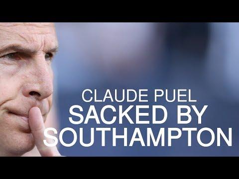 Southampton Sack Claude Puel