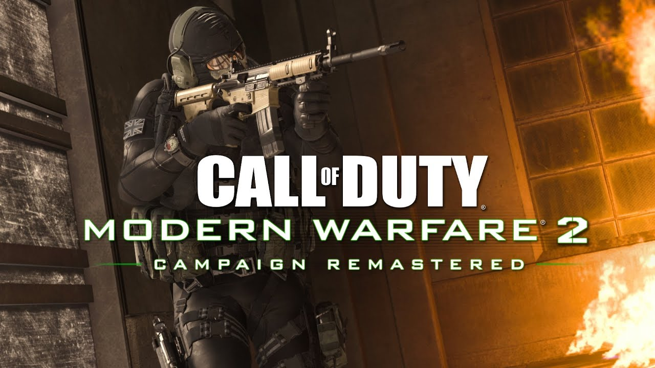 Call Of Duty Modern Warfare 2 Campaign Remastered Official