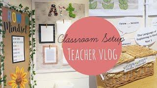Classroom Setup 2020 | Teacher Vlog