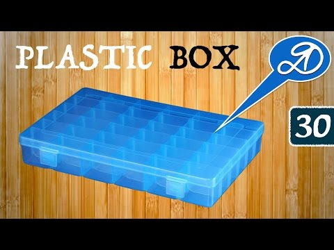 Convenient container for small things. Plastic Storage Box Organizer. Parcel AliExpress (30)