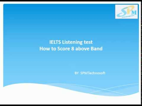 How to Score 8 above Band in IELTS Listening test in Hindi