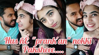 "Husband ne ""PRANK'AN"" nokki pakshe....   Prank on husband   ഇച്ചായൻ പെട്ടു   funny prank"