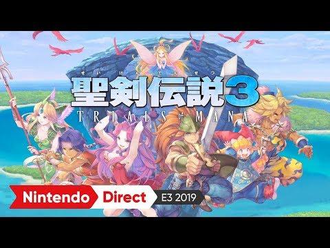 聖剣伝説3 TRIALS of MANA:E3 2019 出展映像
