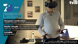 7/8 Eco. La réalité virtuelle, un développement bien réel sur SQY