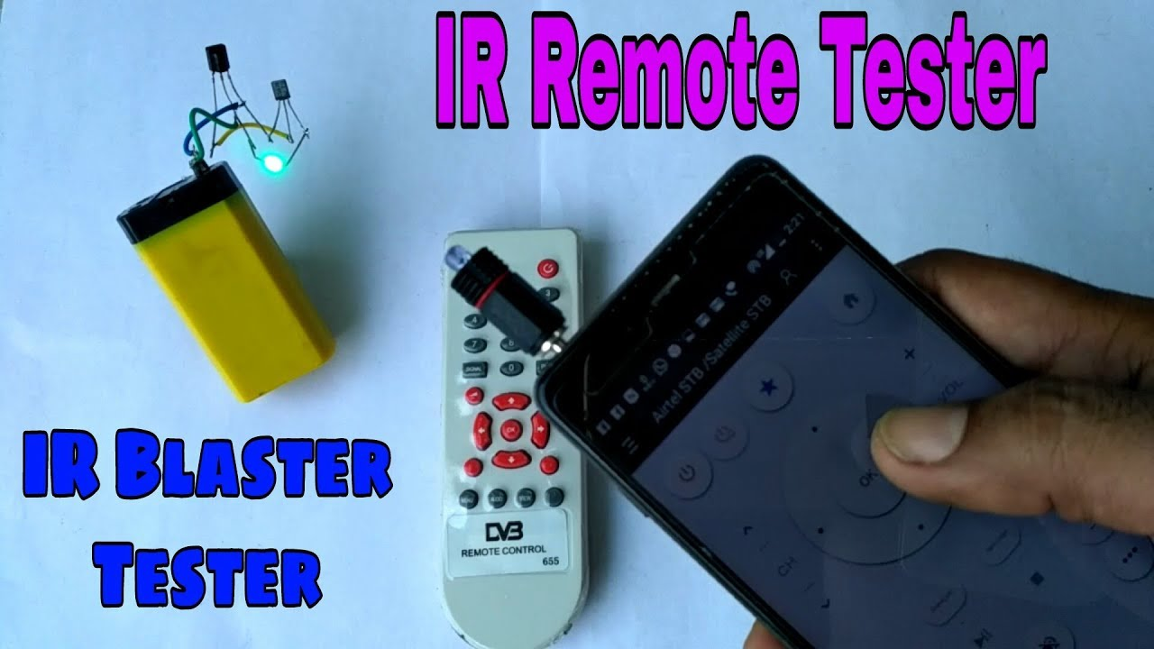 how to make an ir mini Follow these guides of how to make the transmitter     good luck.