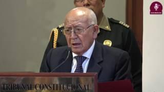 Tema: Firma de Convenio entre el Tribunal Constitucional y la UNMSM