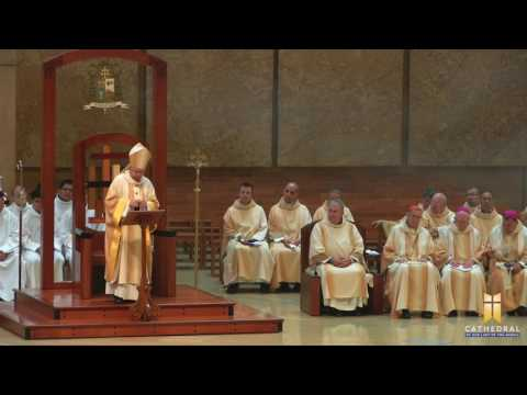 Mass For All Immigrants 2017, Homily By Archbishop José H. Gomez