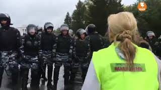 Стрим: задержания сторонников Навального в Екатеринбурге