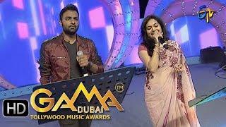 Vennelintha Song - Hemachandra, Sunitha Performance in ETV GAMA Music Awards 2015 - 13th March 2016