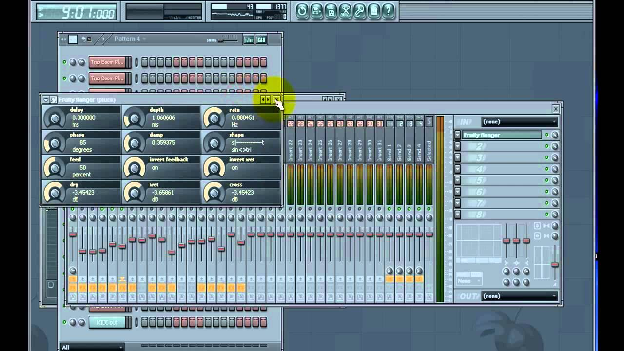 fl studio how to change to 13 beat