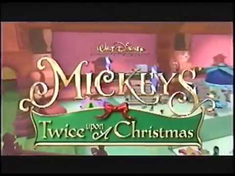 Mickey S Twice Upon A Christmas 2004 Trailer Youtube