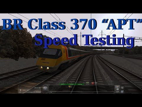 "Train Simulator : BR Class 370 ""APT"" Speed Testing"