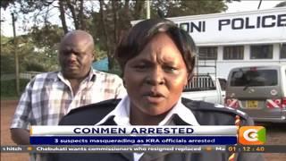 Con men arrested