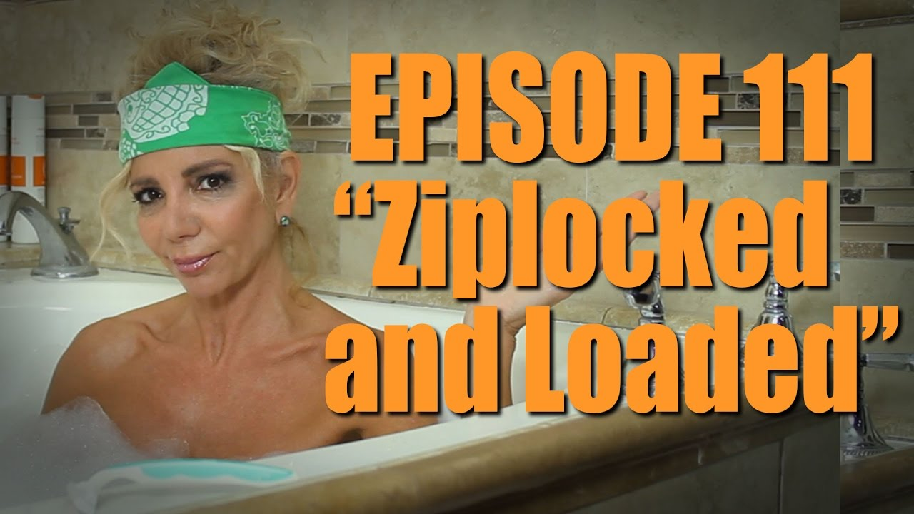 "Carla Collins Comes Clean - ""Ziplocked and Loaded"""