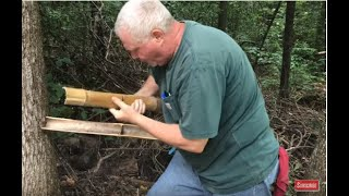 Bamboo Fire Saw Is Fun And Easy!!!