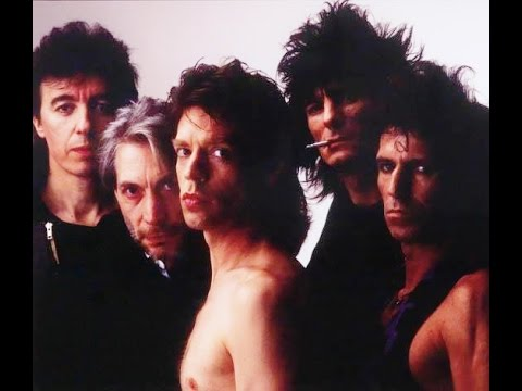 ROLLING STONES: Fight (Early Version 1985 – Dirty Work)