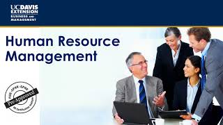 Human resource management information session