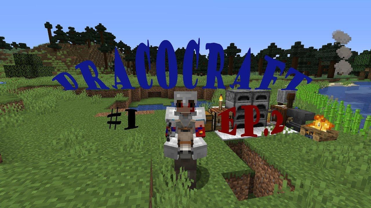 Mucha Suerte / ep2 / Dracocraft #1 / Minecraft