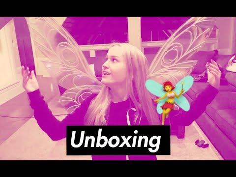 Fancy Fairy Wings Unboxing!