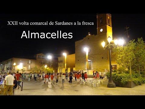 Sardanes a la fresca a Almacelles, (Lleida)