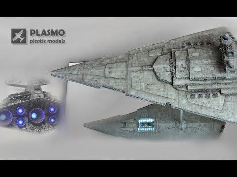 Star Wars Imperial  Star Destroyer - 1/2700 Revell Zvezda - Sci-fi model