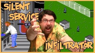 Gamer of the attic - Silent Service & Infiltrator - NES