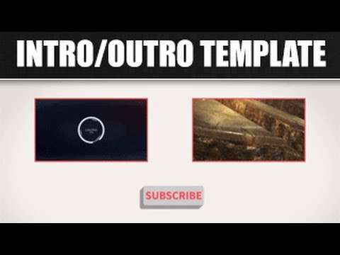 Free after effects cinema 4d outro gaming template 1 for Minecraft outro template movie maker