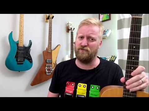 """there's no such thing as """"left handed guitars"""""""