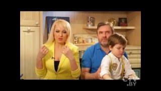 Певица Ольга Плотникова со своей семьей в программе Большой завтрак