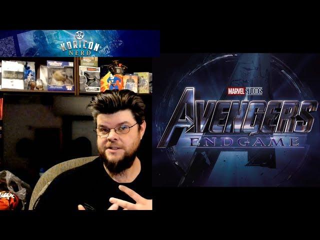 🎥 Avengers 4: Endgame Teaser Trailer Reaction Review!