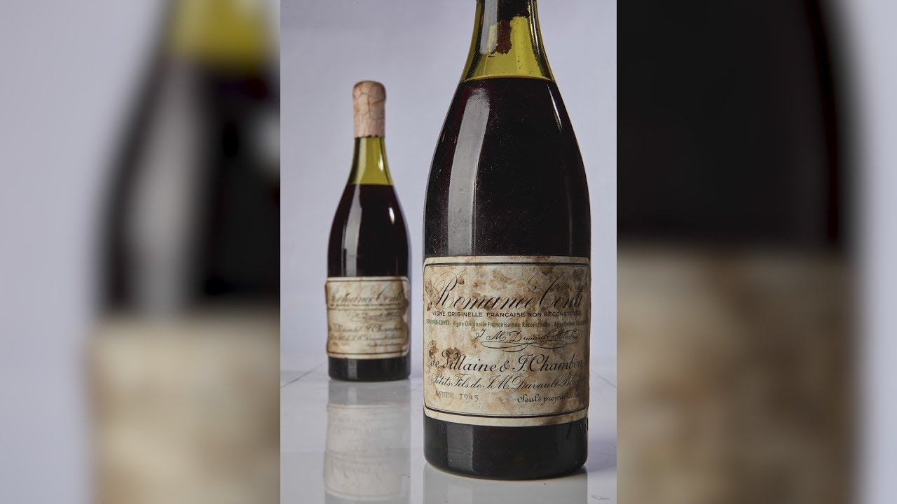 73-Year-Old Vintage Burgundy Wine Fetches $558,000 at Auction ...