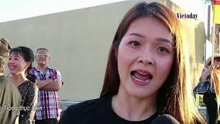 Dân gốc Việt ở Cali biểu tình chống dự thảo luật Đặc Khu ở Việt Nam