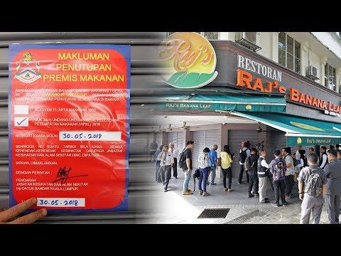 DBKL officially shuts down Raj's Banana Leaf restaurant in Bangsar