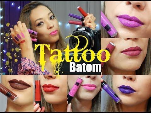 Tattoo: O Batom Que Não Sai