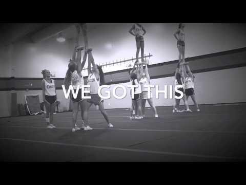 Dalton High School Cheerleaders 2015