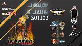 🔴 LIVE INFERNO LEAGUE s01e02 - Hardcore Gaming par la FFF sur Clash of Clans FR
