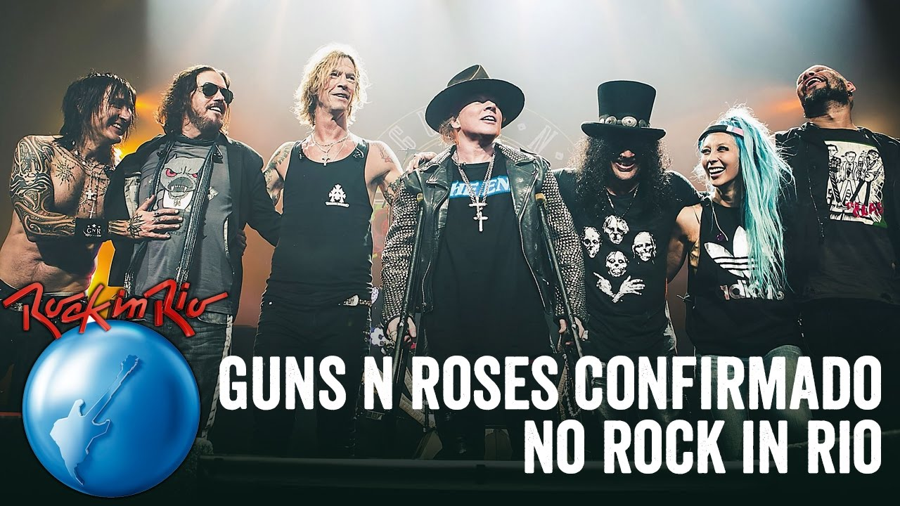Video Anuncio de GUNS N ROSES & THE WHO en  Rock In Rio (Confirmados) . Maxresdefault