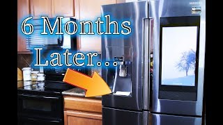 6 Month Review | Samsung Touchscreen Smart Fridge  | Family Hub 3.0