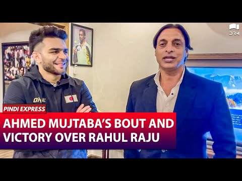 Ahmed Mujtaba on his bout with Rahul Raju   Future Plans for UFC Debut   Shoaib Akhtar   SP1N