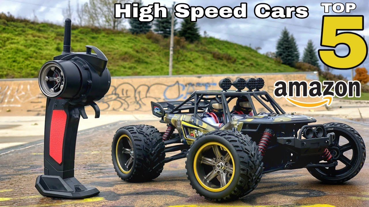 Top 5 High Speed Rc cars Available Online