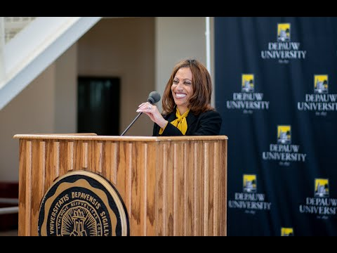 On Wednesday, March 4, 2020, the DePauw community gathered to welcome, and hear remarks from, it's 21st president Dr. Lori White.