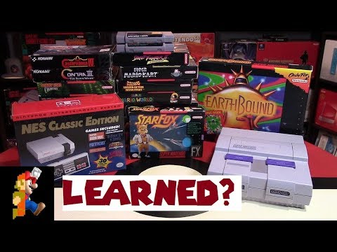 Nintendo Learned? NES Classic Re-Release & SNES Classic Increased Production | Nintendo Collecting