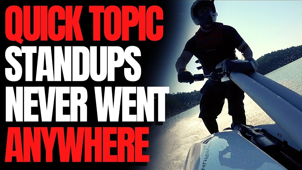 Standup Skis Never Went Anywhere: WCJ Quick Topic