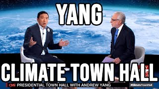 Andrew Yang CNN Climate Crisis Town Hall | Full Video