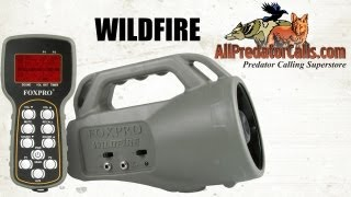 FOXPRO Wildfire 2 Game Call with Remote Control WF1 WF2