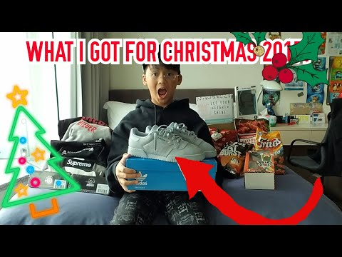 WHAT I GOT FOR CHRISTMAS 2017!!!(Supreme,Mastermind,hypbeast clothing,snacks and more!)