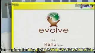 """EVOLVE"" an excellent class by Ca Rahul at IMPACT Khammam 2014"